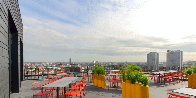 Rooftop - Hôtel Maison Montmartre : R8 + Rooftop - Paris - Toi Toi Mon Toit