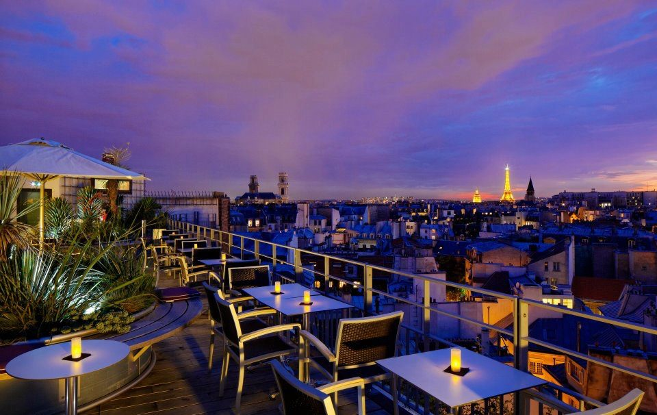 Rooftop - Le 43 Cocktail Bar - Paris - Toi Toi Mon Toit