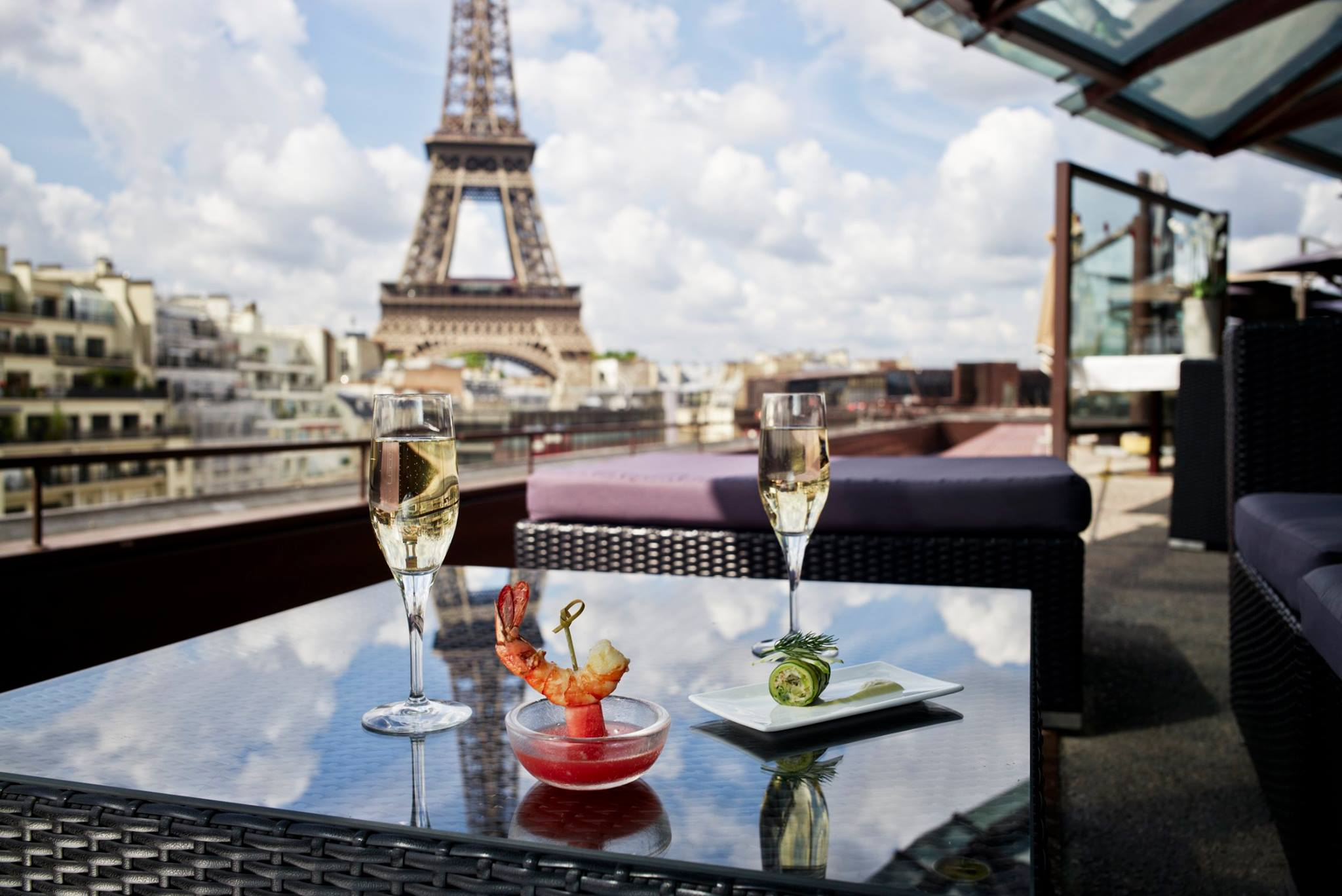 Les Ombres restaurant ParisRestaurants with View of Eiffel Tower #1 - Les Ombres