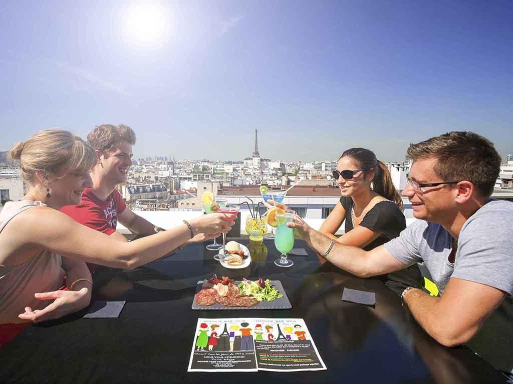 Rooftop - Lounge Bar View Rooftop - Paris - Toi Toi Mon Toit