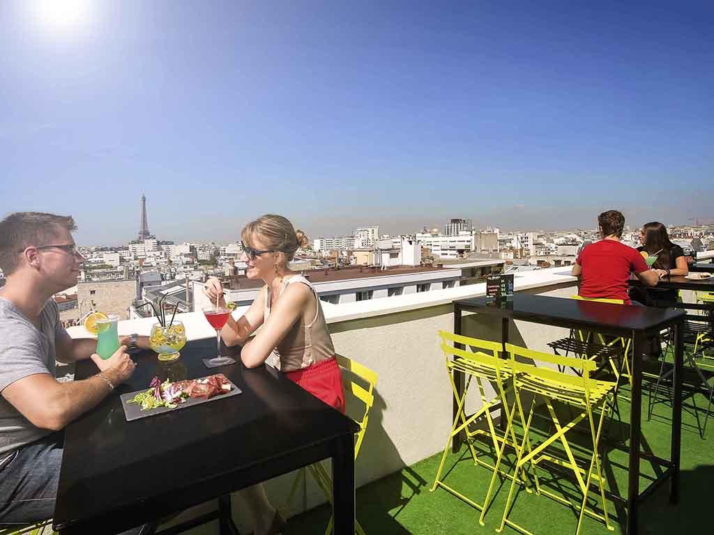 Rooftop - Lounge Bar View Rooftop - Paris - Toi Toi Mon Toit