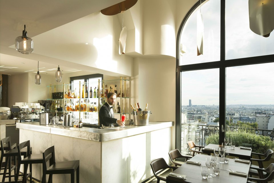 Rooftop - Terrass Hôtel - Paris - Toi Toi Mon Toit