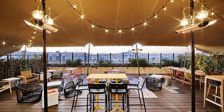 Khayma Rooftop - rooftop paris pas cher - Toi Toi Mon Toit