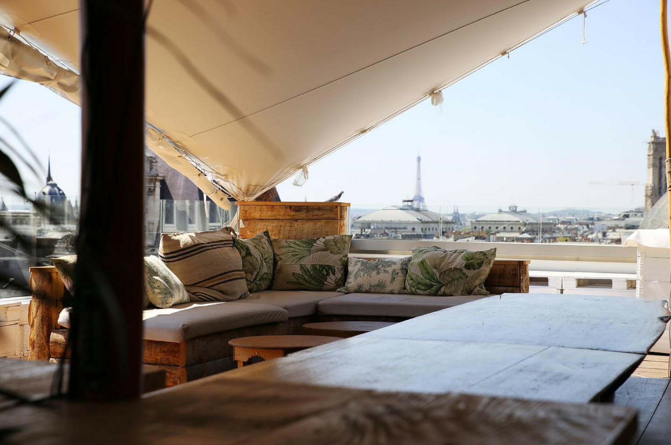 Rooftop - Le Perchoir Marais - Paris - Toi Toi Mon Toit