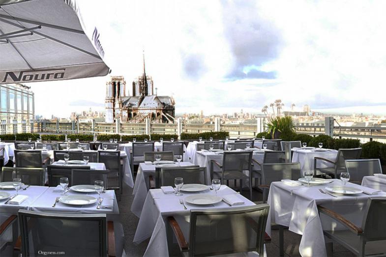 Rooftop - Zyriab by Noura - Paris - Toi Toi Mon Toit