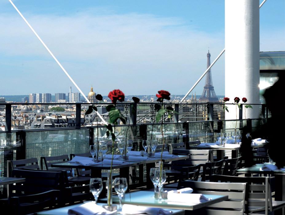 Rooftop - Le Georges - Paris - Toi Toi Mon Toit