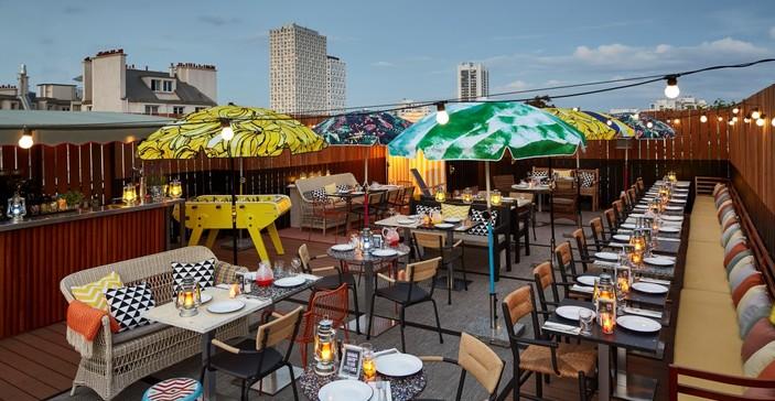 Rooftop - Mama Shelter - Paris - Toi Toi Mon Toit