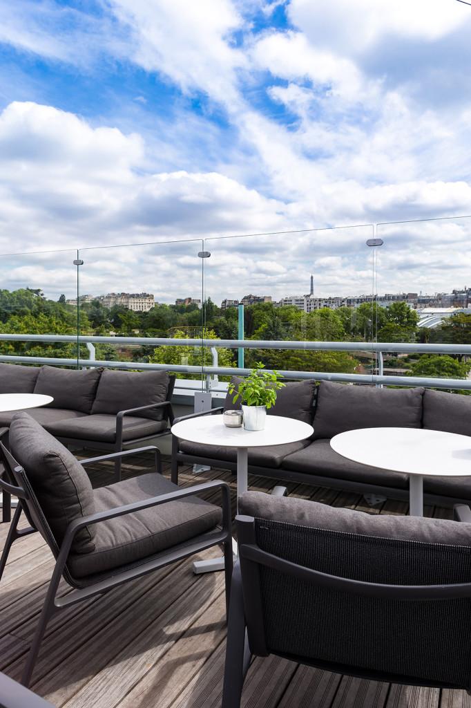 Rooftop - Le Rooftop de l'Hôtel Molitor - Paris - Toi Toi Mon Toit