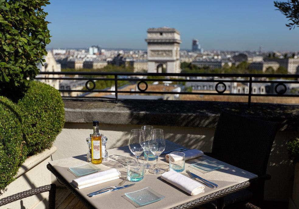 Rooftop - Hôtel Raphael - Paris - Toi Toi Mon Toit