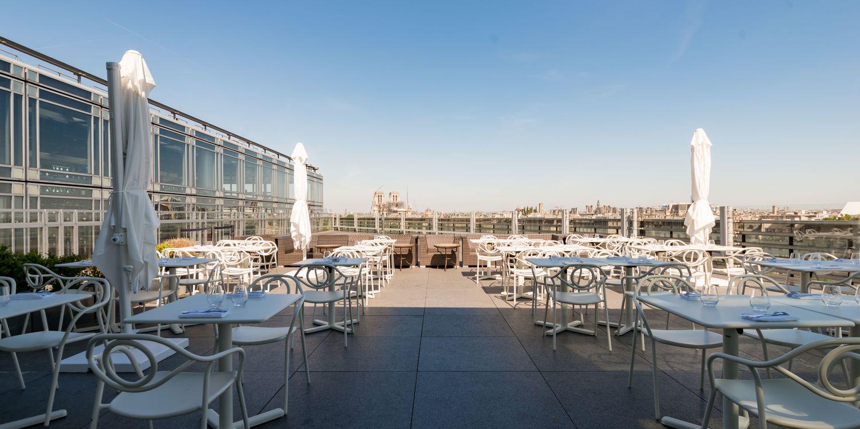 Rooftop - Ziryab - Paris - Toi Toi Mon Toit