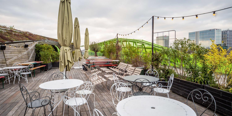 Rooftop - Debonair - Paris - Toi Toi Mon Toit