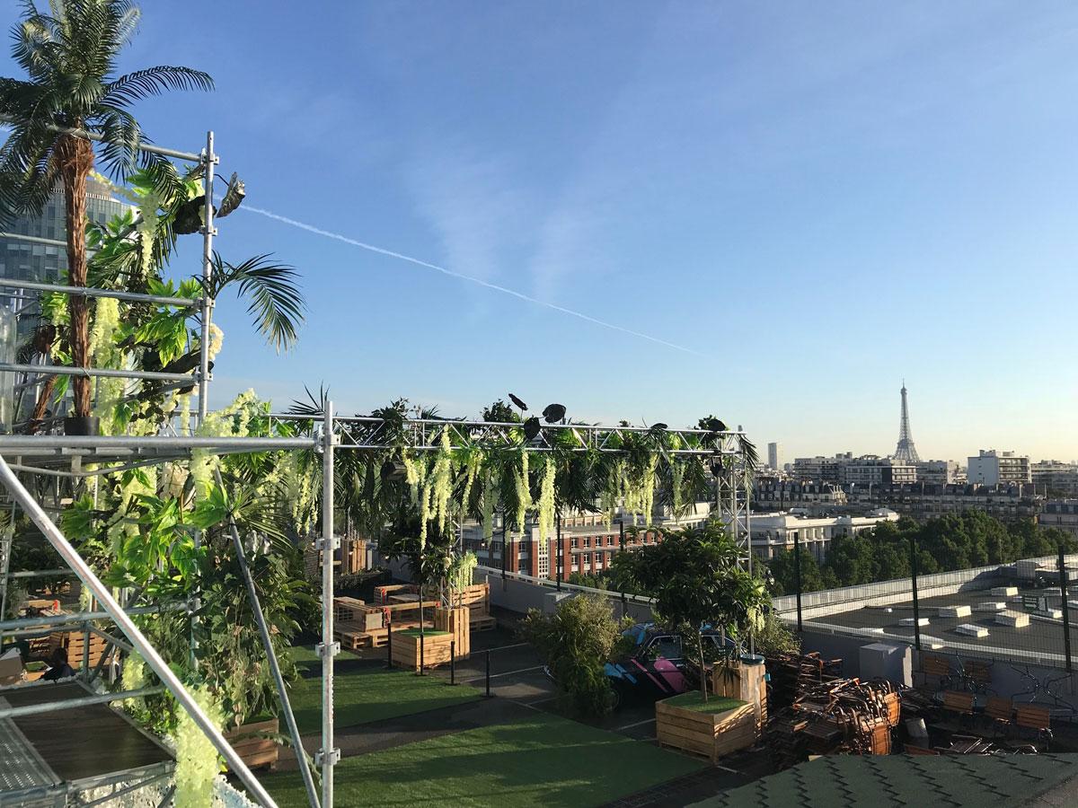 Rooftop - Le Jardin Suspendu - Paris - Toi Toi Mon Toit