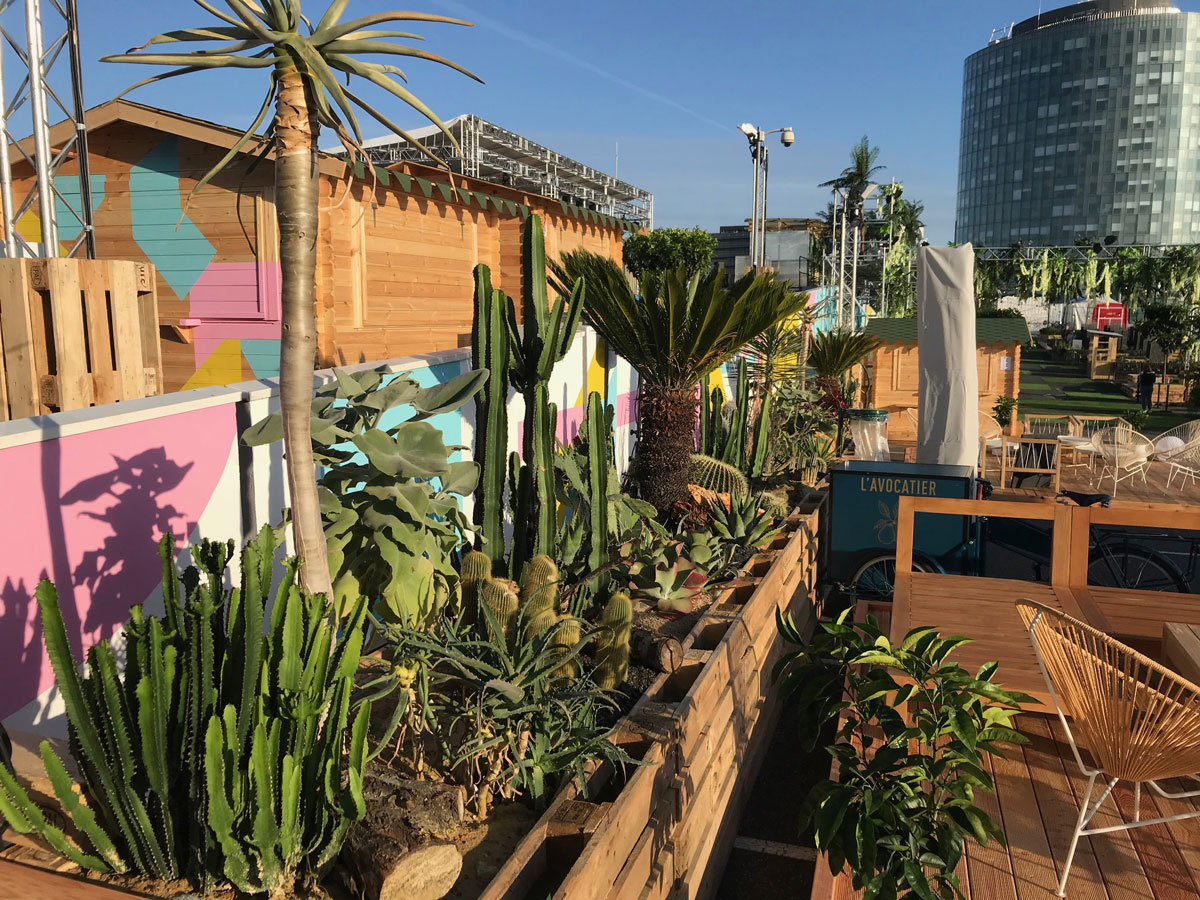 Le Jardin Suspendu The Summer Roof Top Event In Paris
