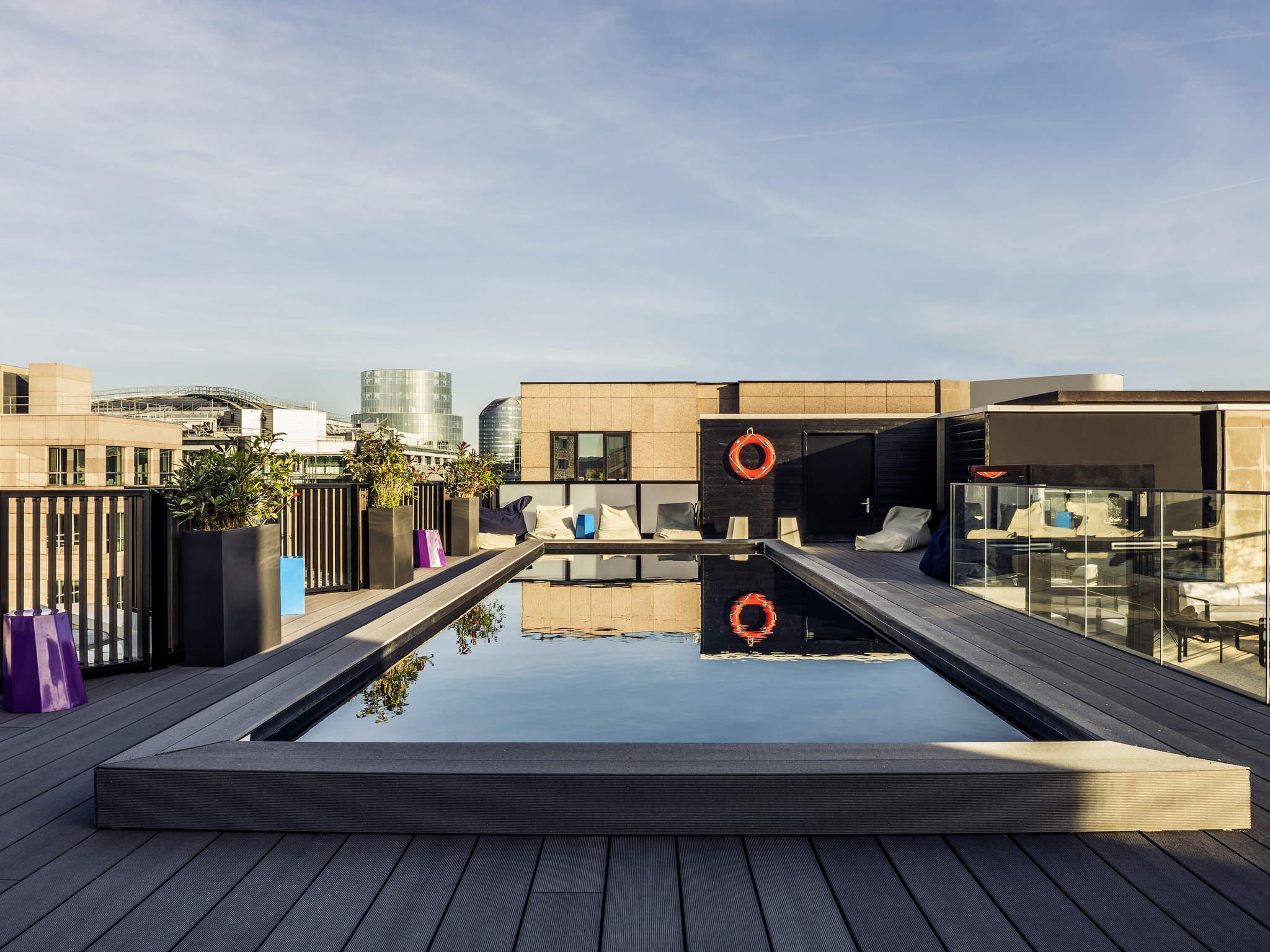 Rooftop - Le Seven Up - Paris - Toi Toi Mon Toit