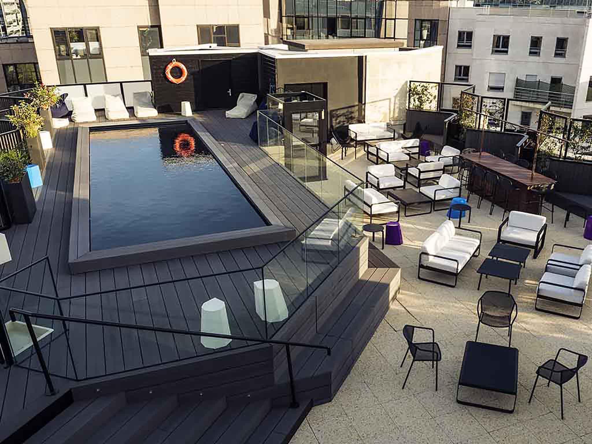 Rooftop - Le Seven Up - Boulogne Billancourt - Toi Toi Mon Toit