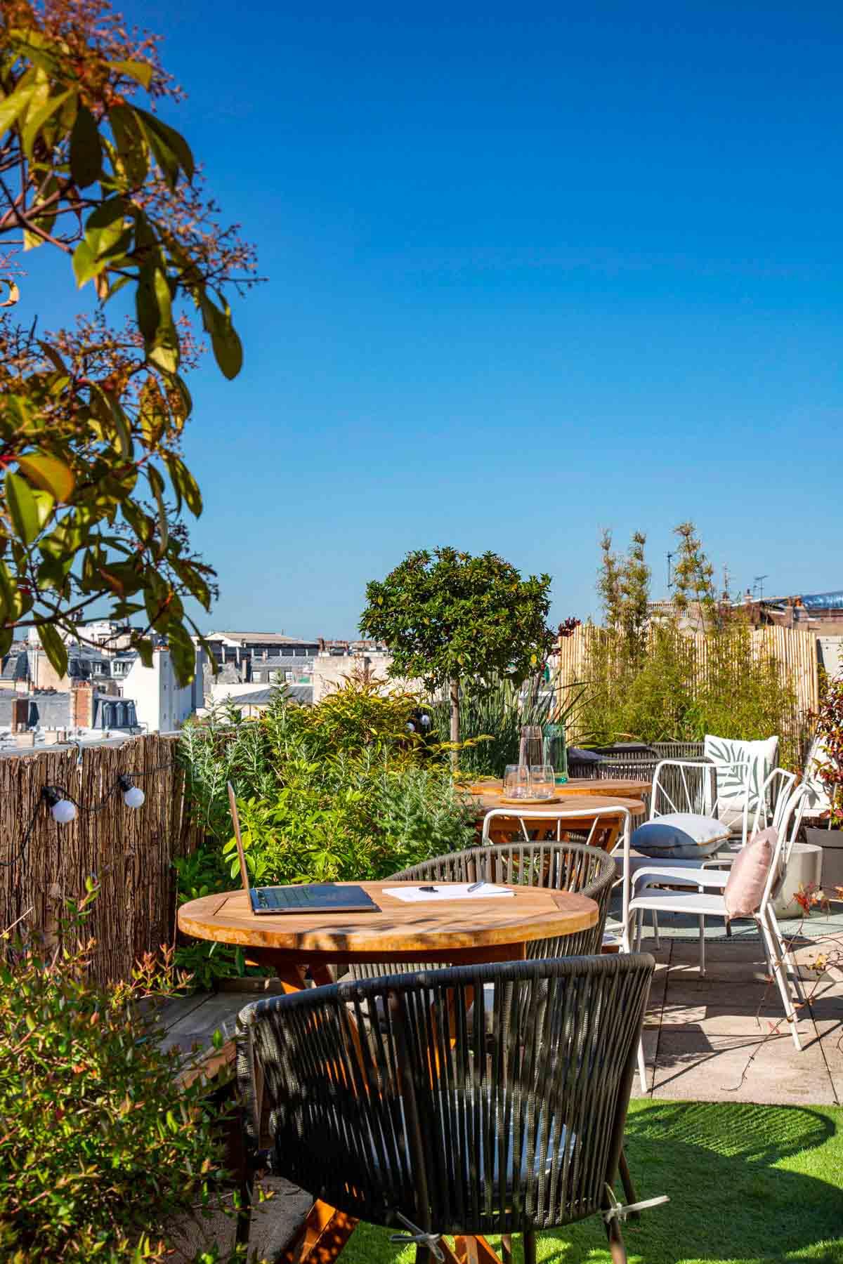 Rooftop - Keeze Monceau - Paris - Toi Toi Mon Toit