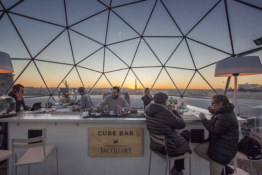Rooftop - Terrasse Galeries Lafayette Haussmann - Paris - Toi Toi Mon Toit