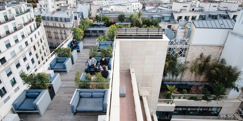Rooftop - Kwerk Haussmann - Paris - Toi Toi Mon Toit