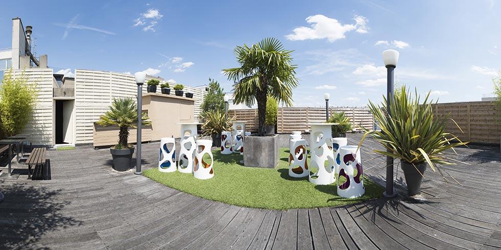 Rooftop - Le Karé - Boulogne Billancourt - Toi Toi Mon Toit