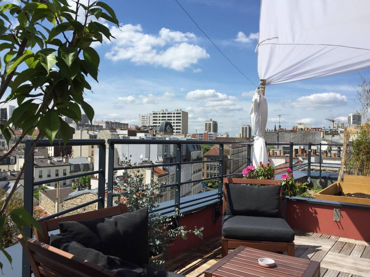 Rooftop - Le Rooftop de Clement - Paris - Toi Toi Mon Toit