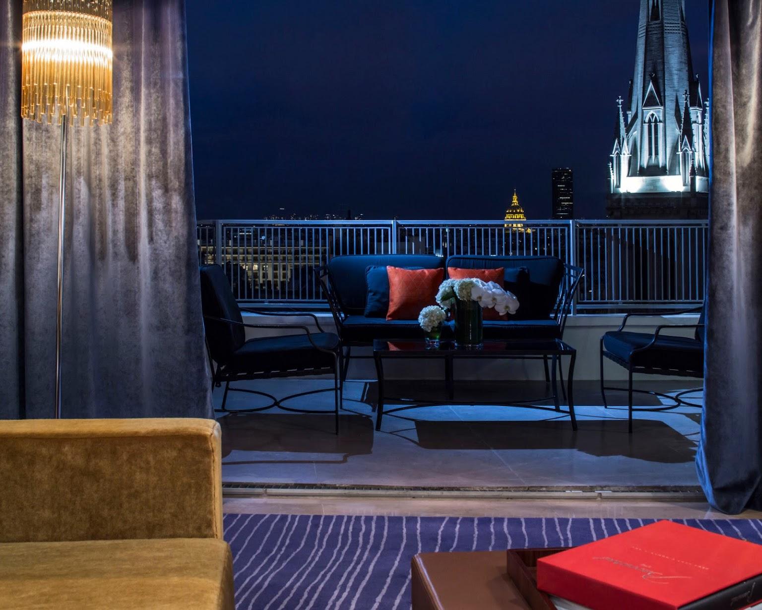 Rooftop - Hôtel de Sers : Le Salon Marquis - Paris - Toi Toi Mon Toit