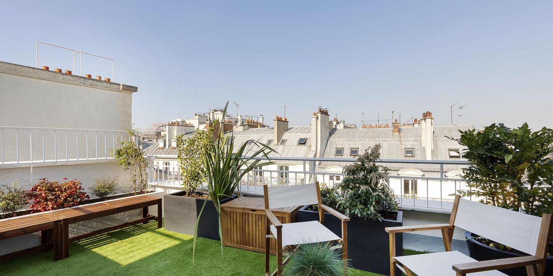 Rooftop - Keeze Champs Elysées Le Toit - Paris - Toi Toi Mon Toit