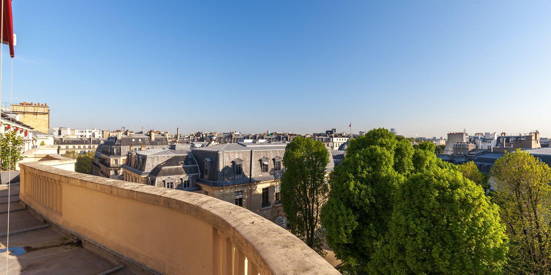 Rooftop - Le Lord Byron - Paris - Toi Toi Mon Toit