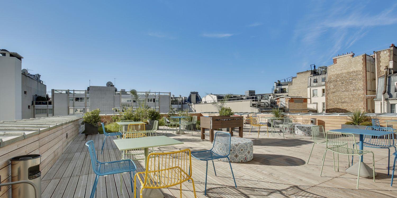 Rooftop - WOJO Nextdoor Champs-Élysées : Espace de Coworking - Paris - Toi Toi Mon Toit