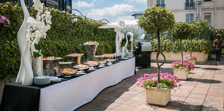 Rooftop - Les Salons Hoche : La Terrasse - Paris - Toi Toi Mon Toit