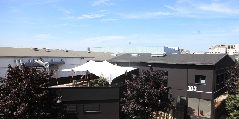 Rooftop - Studio Rouchon : Le Rooftop - Paris - Toi Toi Mon Toit