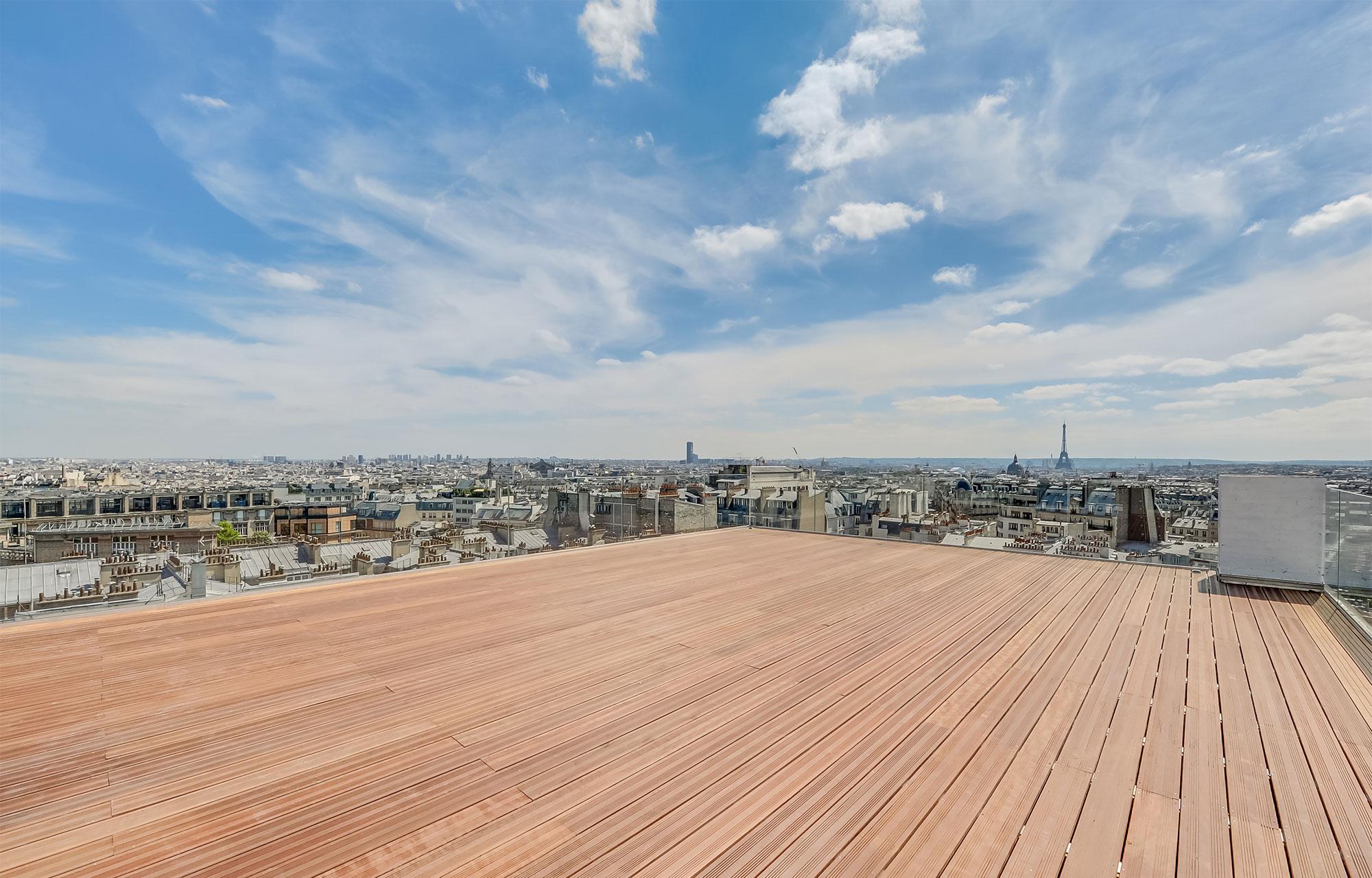 Rooftop - Le Dernier Étage - Paris - Toi Toi Mon Toit