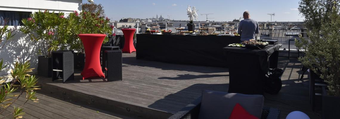 Rooftop - Le Wagram 360° - Paris - Toi Toi Mon Toit