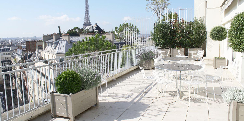 Rooftop - Chambre de commerce suédoise - Paris - Toi Toi Mon Toit