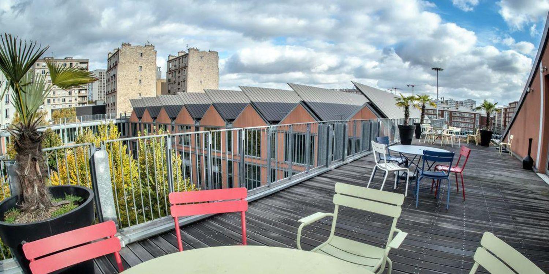 Rooftop - Cent Dix-Huit - Paris- Toi Toi Mon Toit