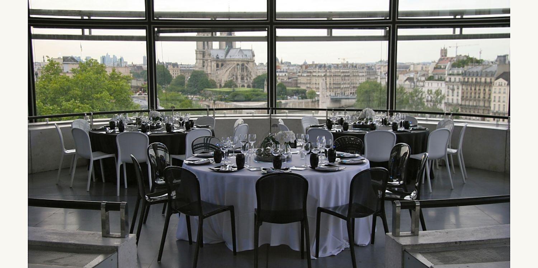 Rooftop - Institut du Monde Arabe - Paris- Toi Toi Mon Toit