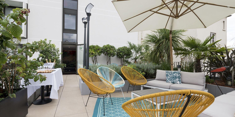 Rooftop - Les Jardins de Mademoiselle - Paris- Toi Toi Mon Toit
