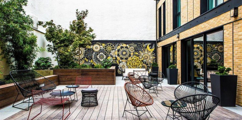 Rooftop - L'Imprimerie Hôtel : le rooftop - Clichy - Toi Toi Mon Toit