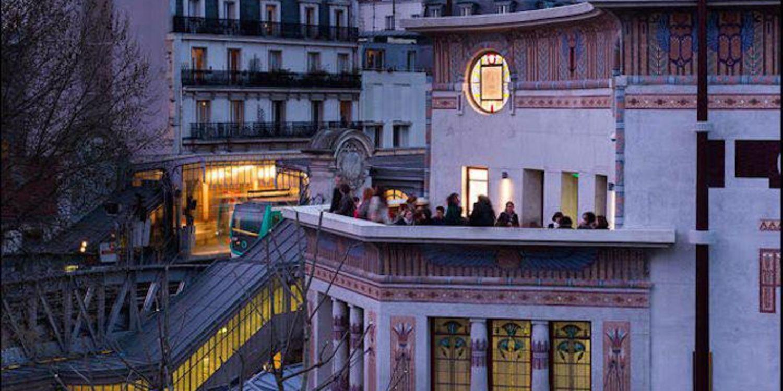 Rooftop - Le Louxor - Paris- Toi Toi Mon Toit