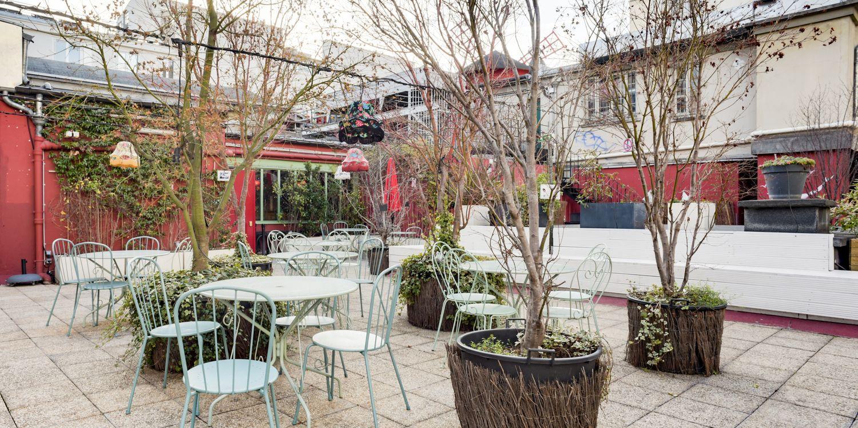 Rooftop - Le Bar à bulles - Paris - Toi Toi Mon Toit