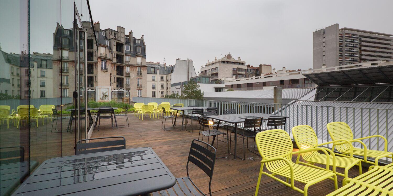 Rooftop - Deskopolitan Voltaire : la Distillerie - Paris - Toi Toi Mon Toit