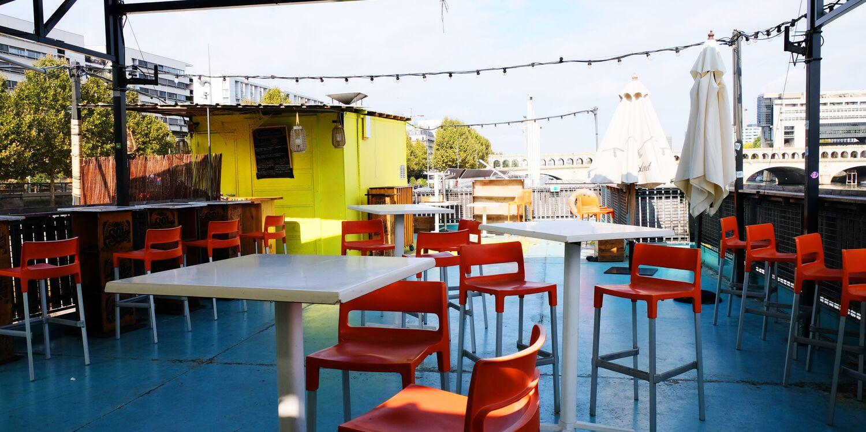Rooftop - Le Petit Bain Rooftop - Paris - Toi Toi Mon Toit