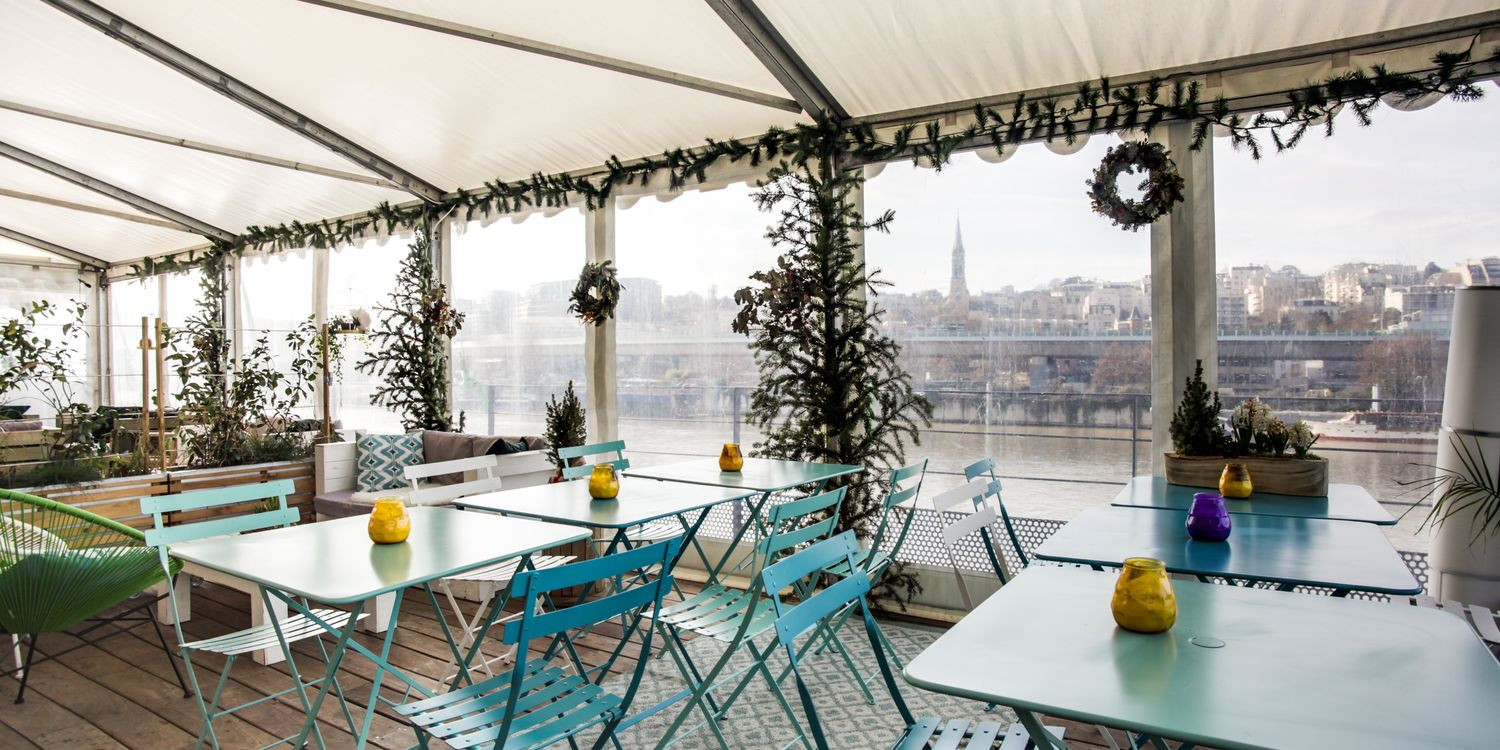 Rooftop - Reef Club : Babord - Boulogne Billancourt - Toi Toi Mon Toit