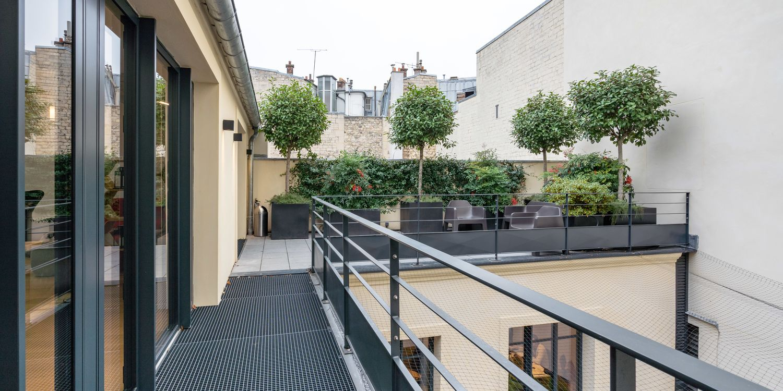Rooftop - Blue Shaker : Penthouse - Paris - Toi Toi Mon Toit