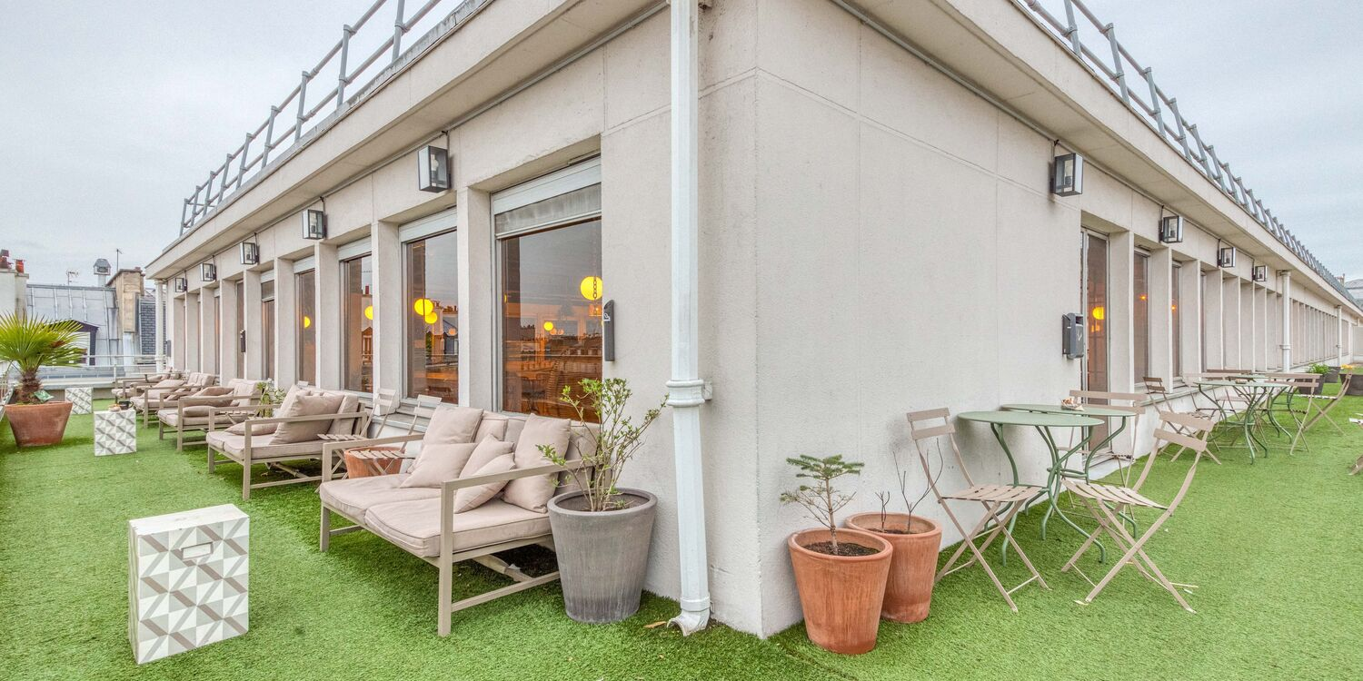 Rooftop - Morning Coworking Monceau- Paris - Toi Toi Mon Toit