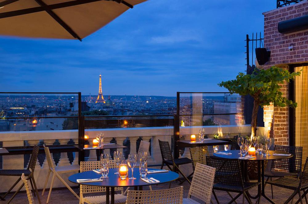 Rooftop - Terrass Hotel - Paris - Toi Toi Mon Toit